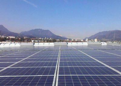 Sonnenkraftwerk Lagermax Villach