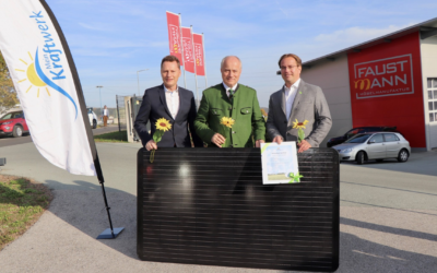 Faustmann Möbelmanufaktur arbeitet mit sauberen Strom
